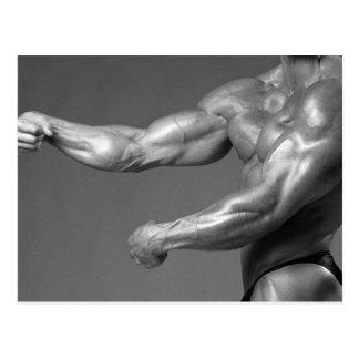Het Briefkaart van bicepsen
