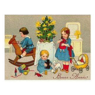 """Het Briefkaart van """"Bonne Annee"""""""