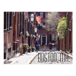 Het Briefkaart van Boston, de Spijker zonder kop