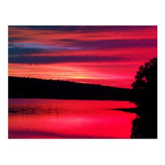 Het Briefkaart van Bridgewater Nova Scotia van de