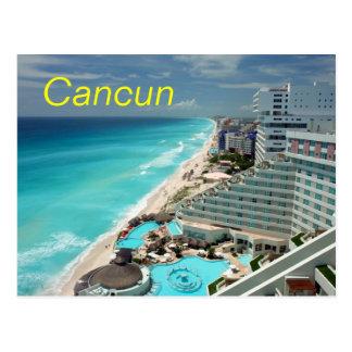 Het briefkaart van Cancun