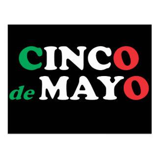 Het Briefkaart van Cinco DE Mayo