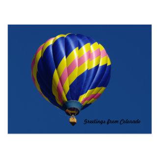 Het Briefkaart van de ballon