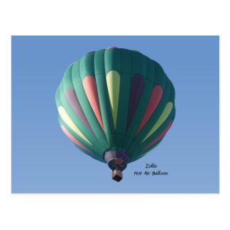 Het Briefkaart van de Ballon van de Hete Lucht van Wenskaarten