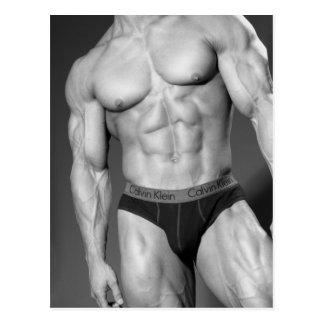 Het Briefkaart van de bodybuilder #8