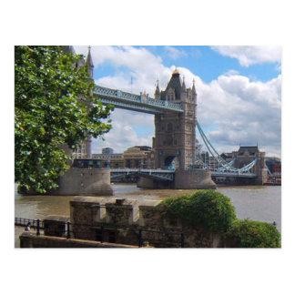 Het Briefkaart van de Brug van de Toren van Londen