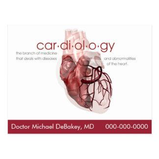 Het Briefkaart van de Cardiologie van de arts