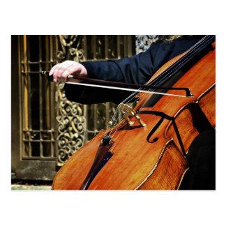 Het Briefkaart van de cello