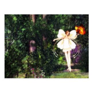 Het briefkaart van de Dans van de Vlinder van de