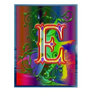 Het Briefkaart van de Dansers van het Alfabet van