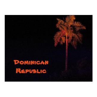 Het briefkaart van de Dominicaanse Republiek