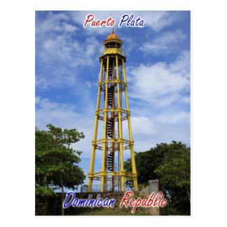 Het Briefkaart van de Dominicaanse Republiek van