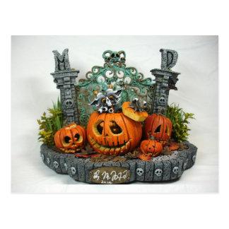 Het Briefkaart van de Draak van Halloween van het