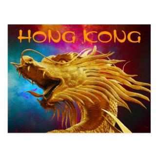 Het Briefkaart van de Draak van Hong Kong