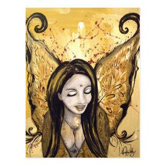 Het Briefkaart van de Engel van de harmonie