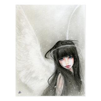 Het Briefkaart van de Engel van de sneeuw
