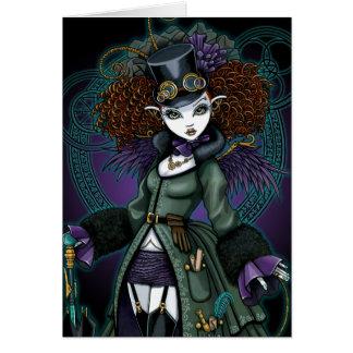 Het Briefkaart van de Engel van de Vampier van