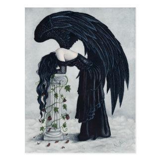 Het Briefkaart van de Engel van de wanhoop