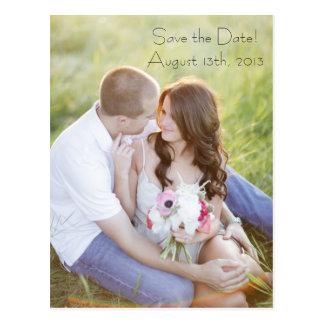 Het Briefkaart van de foto bewaart de Datum