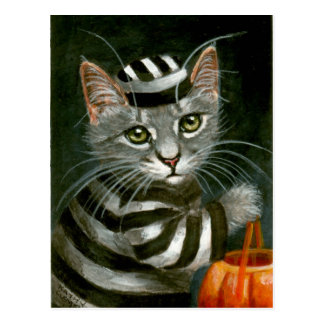 Het Briefkaart van de Gevangene van Halloween van