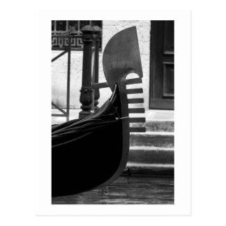 Het briefkaart van de Gondel van Venetië