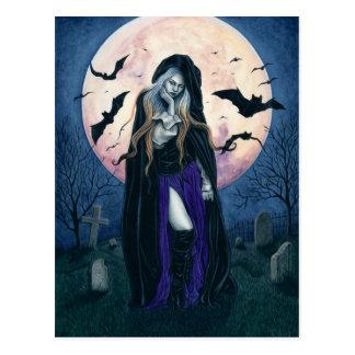 Het Briefkaart van de Heks van Halloween van de