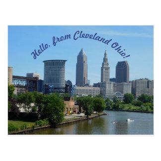 Het Briefkaart van de Horizon van Cleveland Ohio