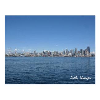 Het Briefkaart van de Horizon van Seattle