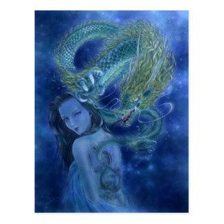 Het Briefkaart van de Kunst van de fantasie - de