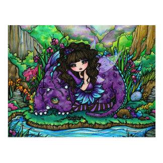 Het Briefkaart van de Kunst van de Fantasie van de