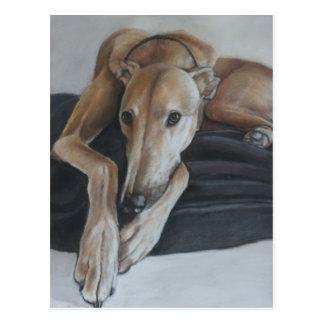 Het Briefkaart van de Kunst van de Hond van de