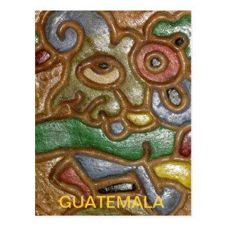Het Briefkaart van de Kunst van Guatemala