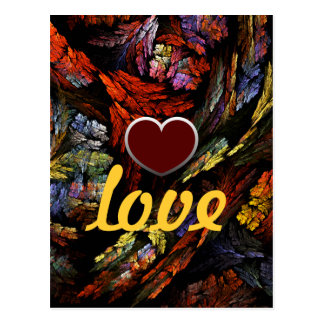 Het Briefkaart van de Liefde van de Harmonie van