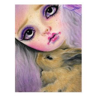 Het Briefkaart van de Liefde van het konijntje
