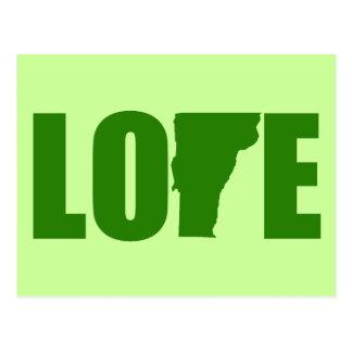 Het Briefkaart van de Liefde van Vermont