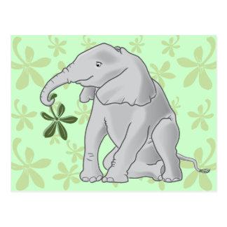 Het Briefkaart van de Olifant van het baby