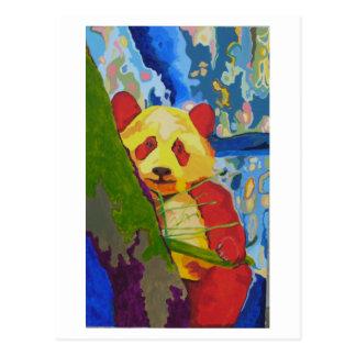 Het briefkaart van de Panda van de pop