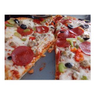 Het Briefkaart van de pizza