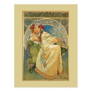 Het Briefkaart van de Prinses van de Jugendstil