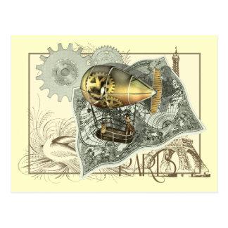 Het Briefkaart van de Reis van de Lucht van
