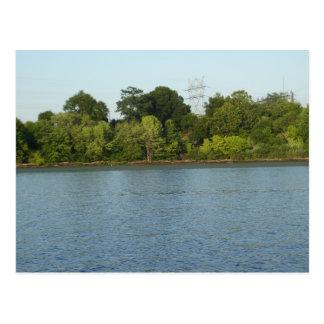 Het Briefkaart van de Rivier van Susquehanna