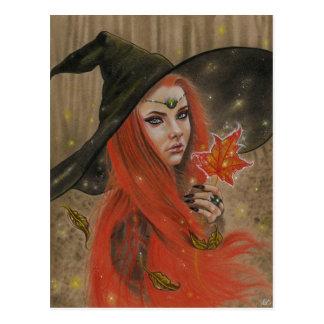 Het Briefkaart van de Schoonheid van de herfst