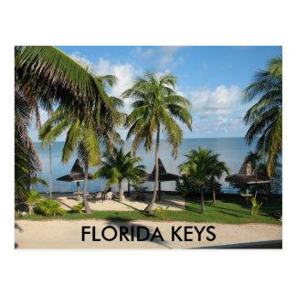 Het Briefkaart van de Sleutels van Florida