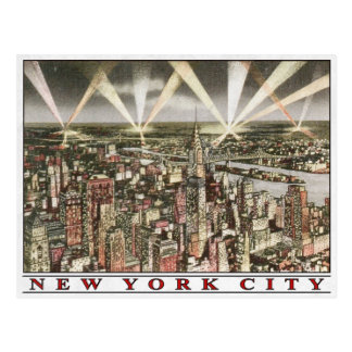 Het Briefkaart van de Stad van New York met