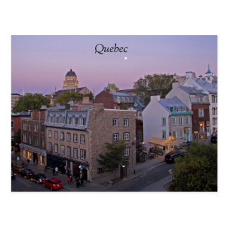 Het Briefkaart van de Stad van Quebec