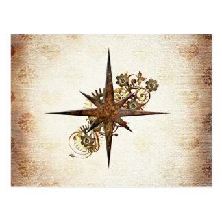 Het Briefkaart van de Ster van het Kompas van