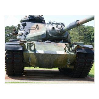 Het Briefkaart van de tank