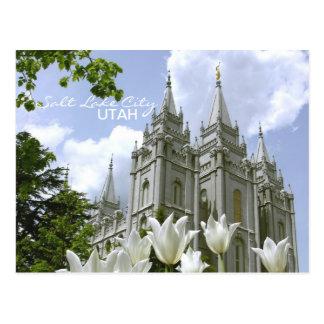Het Briefkaart van de Tempel SLC LDS