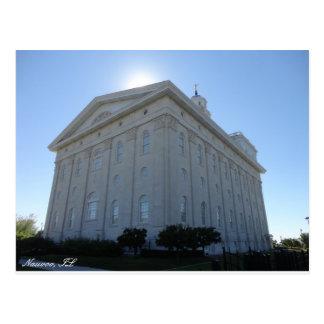Het Briefkaart van de Tempel van Nauvoo LDS