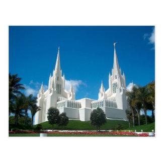 Het Briefkaart van de Tempel van San Diego LDS